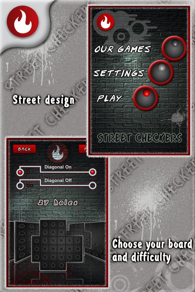 Screenshot Street Checkers